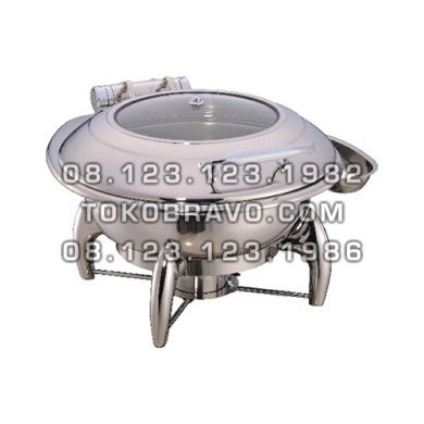 Hydraulic Round Chafing Dish 6L and Frame 1060-L 1060-F Getra