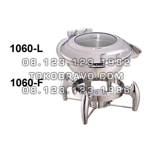 Hydraulic Round Chafing Dish 6L and Frame 1060-L 1060-F Getra