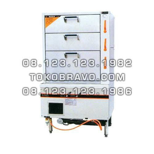 3 Decks Gas Turbo Blower Steamer 3DGFS-9082 Getra