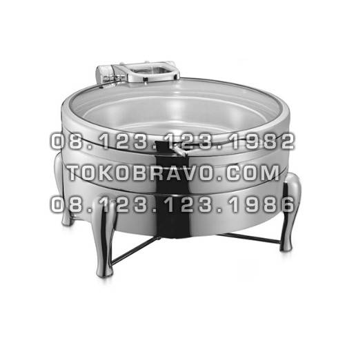 Hydraulic Round Chafing Dish and Frame 4060-L 4060-F Getra