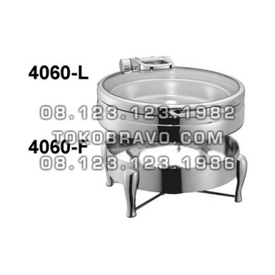 Hydraulic Round Chafing Dish and Frame 4060-L 4060-F Getra