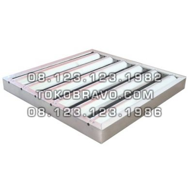 Aluminium Baffle Grease Filter AFA Getra