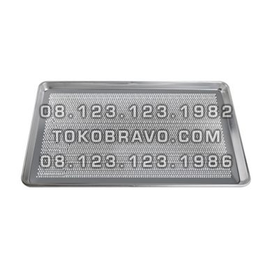 Aluminium Bakery Pan Perforated AP-6430P Getra