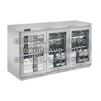 Stainless Steel Back Bar Bottle Cooler BB-W5T3 Gea