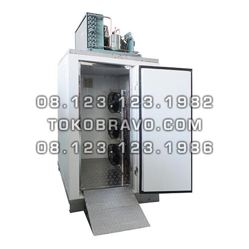 Blast Freezer Forced Air Plug In BF-1T (3 Turbo Blower + 1 Trolley) Gea