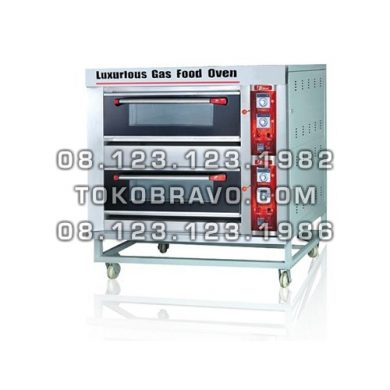 Gas Oven BOV-ARF60H 2D6T Fomac