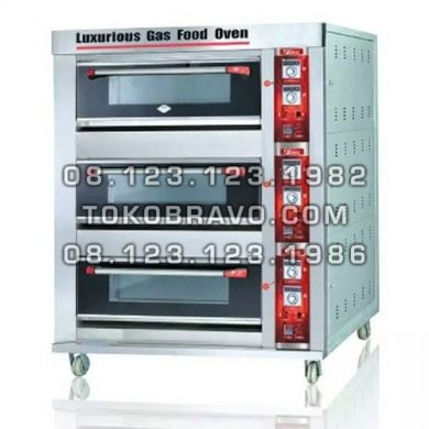 Gas Oven BOV-ARF60H 3D6T Fomac