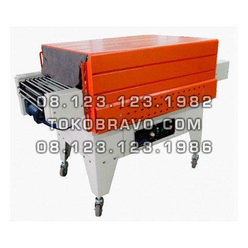 Shrink Tunnel Packing Machine Rod Conveyor BS-G4525 Powerpack