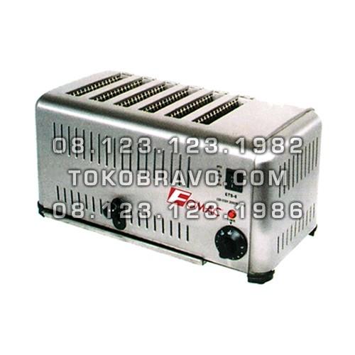 Bread Toaster 6Slice BTT-DS6 Fomac