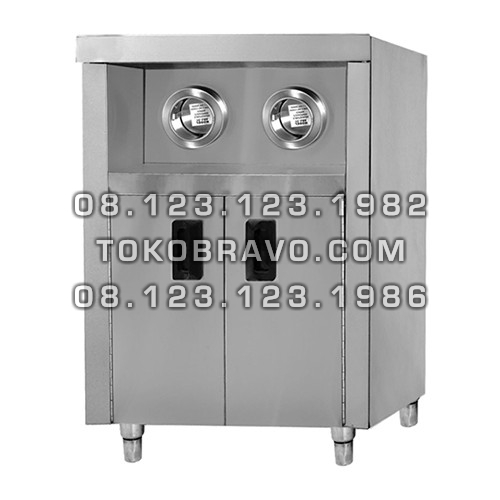 Stainless Steel Cabinet with 2 Cups Dispenser CCD-500 Getra