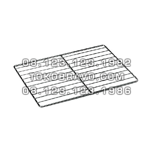 Combi Oven Accessories Chromated Grid Getra
