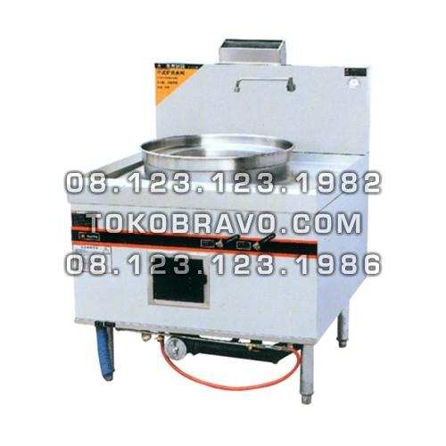 Gas Dim Sum Blower Steamer CS-9095 Getra