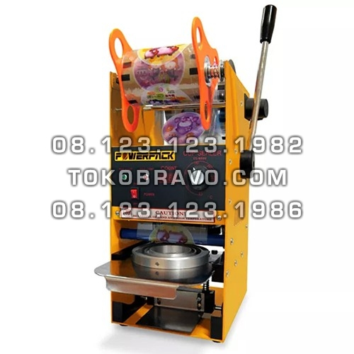 Semi Automatic Cup Sealer Small Cup with Digital Counter CS-S929 Powerpack