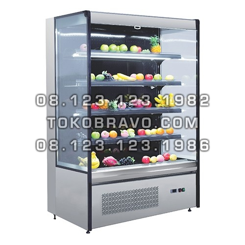 Multideck Opened Chiller Self Contained Dahlia-1280 Gea
