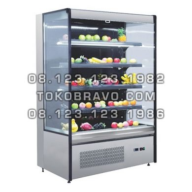 Multideck Opened Chiller Self Contained Dahlia-1580 Gea