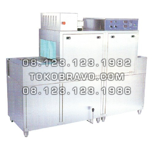 Gas Rack and Slide Conveyor Dishwasher DCS-1G Getra