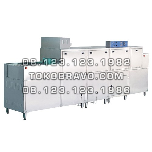 Gas Rack and Slide Conveyor Dishwasher DCS-2G Getra