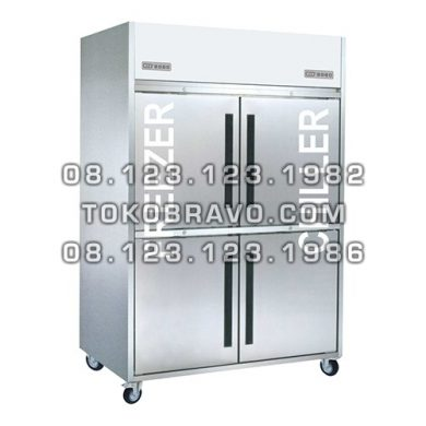 Stainless Steel Upright Freezer Chiller