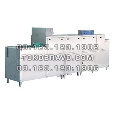 Gas Slide Conveyor Dish Washer with Pre Wash + Dryer Function DS-1G Getra
