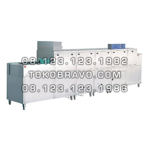 Gas Slide Conveyor Dish Washer with Pre Wash + Dryer Function DS-2G Getra