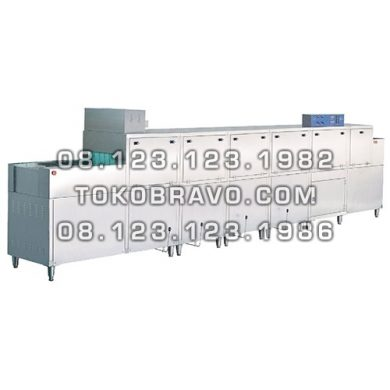 Gas Slide Conveyor Dish Washer with Pre Wash + Dryer Function DS-3G Getra