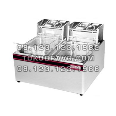 Electric Deep Fryer 2 Tank 2 Basket EF-82 Getra