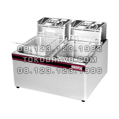 Electric Deep Fryer 2 Tank 2 Basket EF-89 Getra