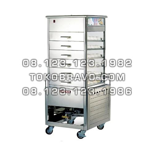 High Pressure Gas Bakpao Steamer ESM-66 Getra