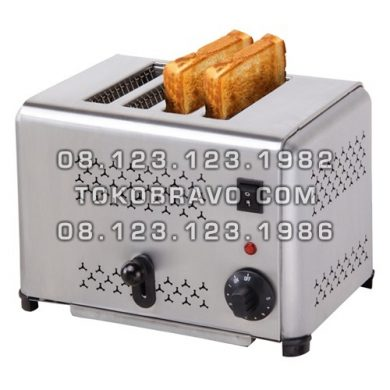 Bread 4 Slot Toaster Pop Up EST-AP-4 Getra
