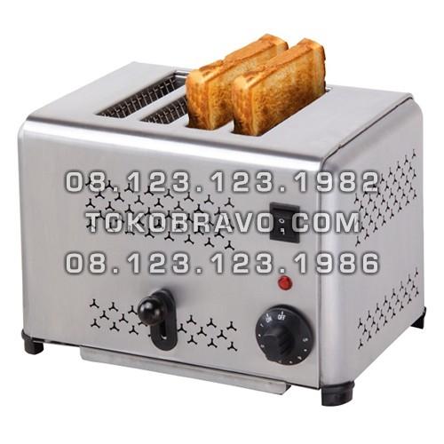 Bread 4 Slot Toaster Pop Up EST-AP-4 Getra