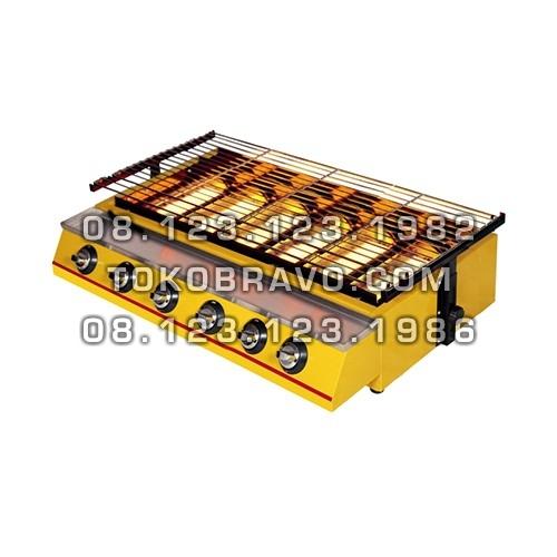 Gas Roaster 6 Big Burner BBQ ET-K333 Getra