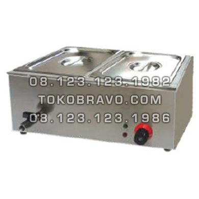Counter Table Top Bain Marie ET-TEM-2V Getra