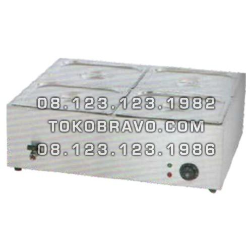 Counter Table Top Bain Marie ET-TEM-4V Getra