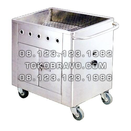 Gas Dim Sum Trolley F-0021 Getra