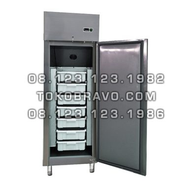 Minimarket Stainless Steel Fresh Fish Cabinet FISH-550-ID Gea