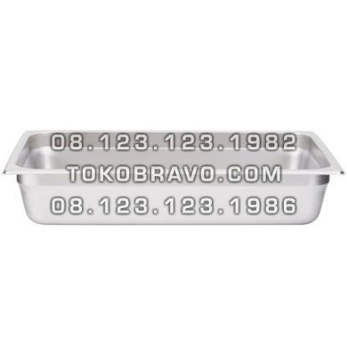 Gastronom Pan Stainless Steel Food Pan FP 1/1-4 Getra