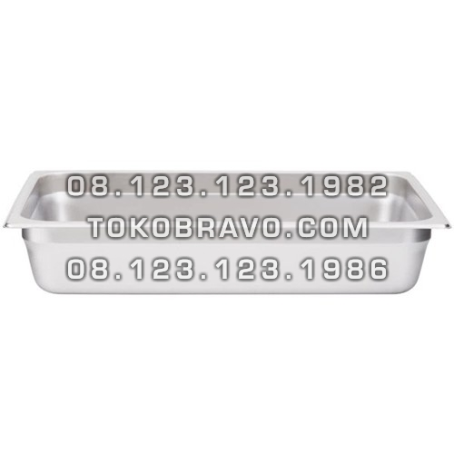 Gastronom Pan Stainless Steel Food Pan FP 1/1-4 Getra
