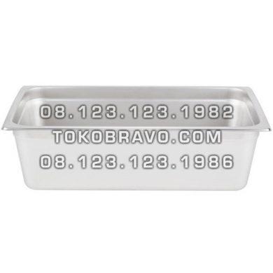 Gastronom Pan Stainless Steel Food Pan FP 1/1-6 Getra