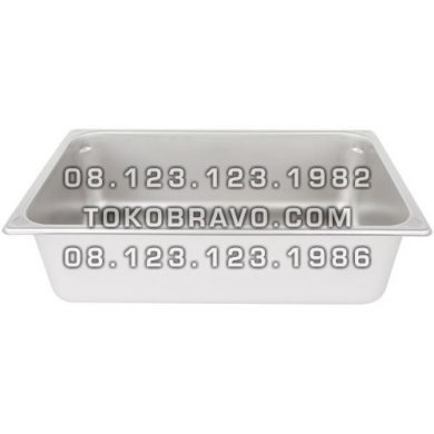 Gastronom Pan Stainless Steel Food Pan FP 1/1-8 Getra