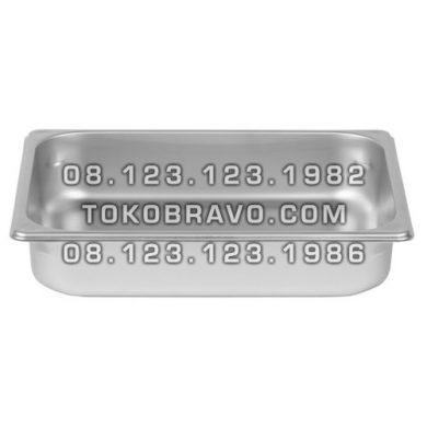 Gastronom Pan Stainless Steel Food Pan FP 1/2-4 Getra