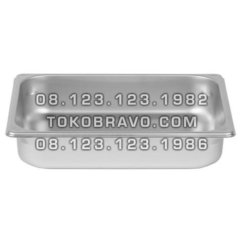Gastronom Pan Stainless Steel Food Pan FP 1/2-4 Getra