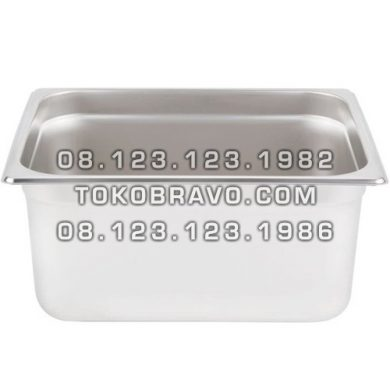 Gastronom Pan Stainless Steel Food Pan FP 1/2-8 Getra