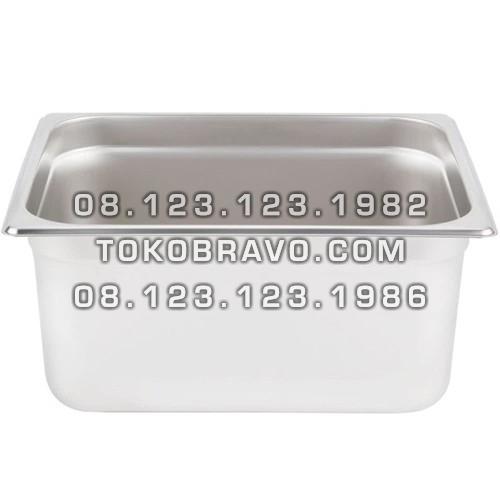 Gastronom Pan Stainless Steel Food Pan FP 1/2-8 Getra