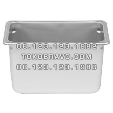 Gastronom Pan Stainless Steel Food Pan FP 1/4-6 Getra