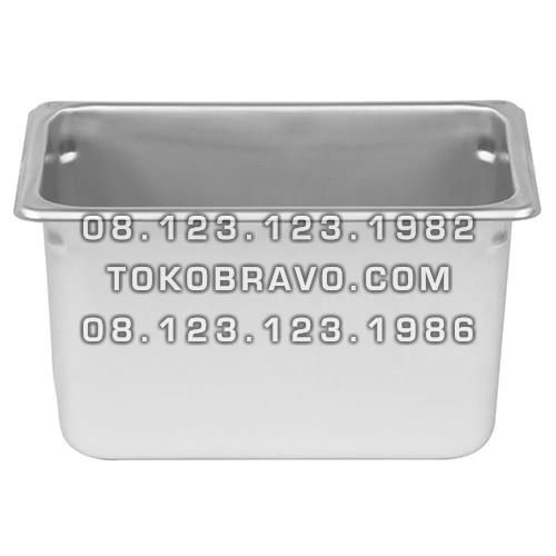 Gastronom Pan Stainless Steel Food Pan FP 1/4-6 Getra