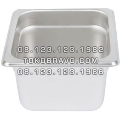 Gastronom Pan Stainless Steel Food Pan FP 1/6-4 Getra