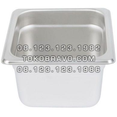 Gastronom Pan Stainless Steel Food Pan FP 1/6-4 Getra