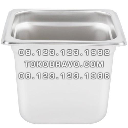 Gastronom Pan Stainless Steel Food Pan FP 1/6-6 Getra