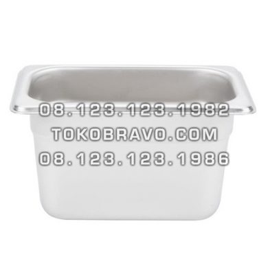 Gastronom Pan Stainless Steel Food Pan FP 1/9-4 Getra
