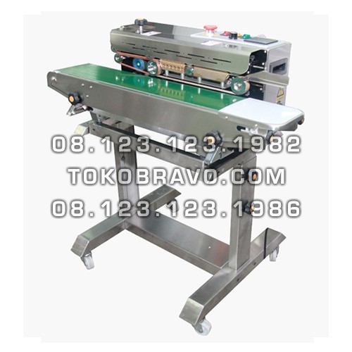 Floor Type Continuous Band Sealer Machine FR-900F Powerpack
